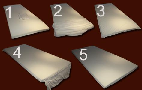 100 visco f r matratzen topper viscoelastische viskoschaum matratzenauflage ebay. Black Bedroom Furniture Sets. Home Design Ideas